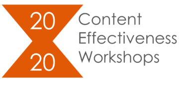Content Effectiveness Workshops