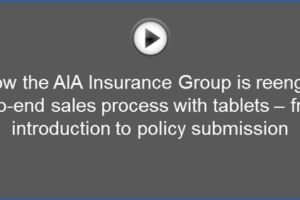 An example of mobile sales enablement in the life insurance industry