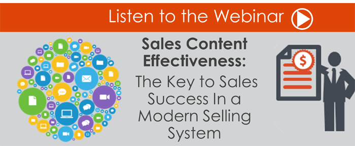 Webinar: Effective Sales Content – The Key to Sales Success