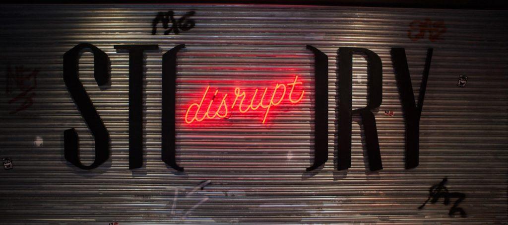 Disrupt Story Wall