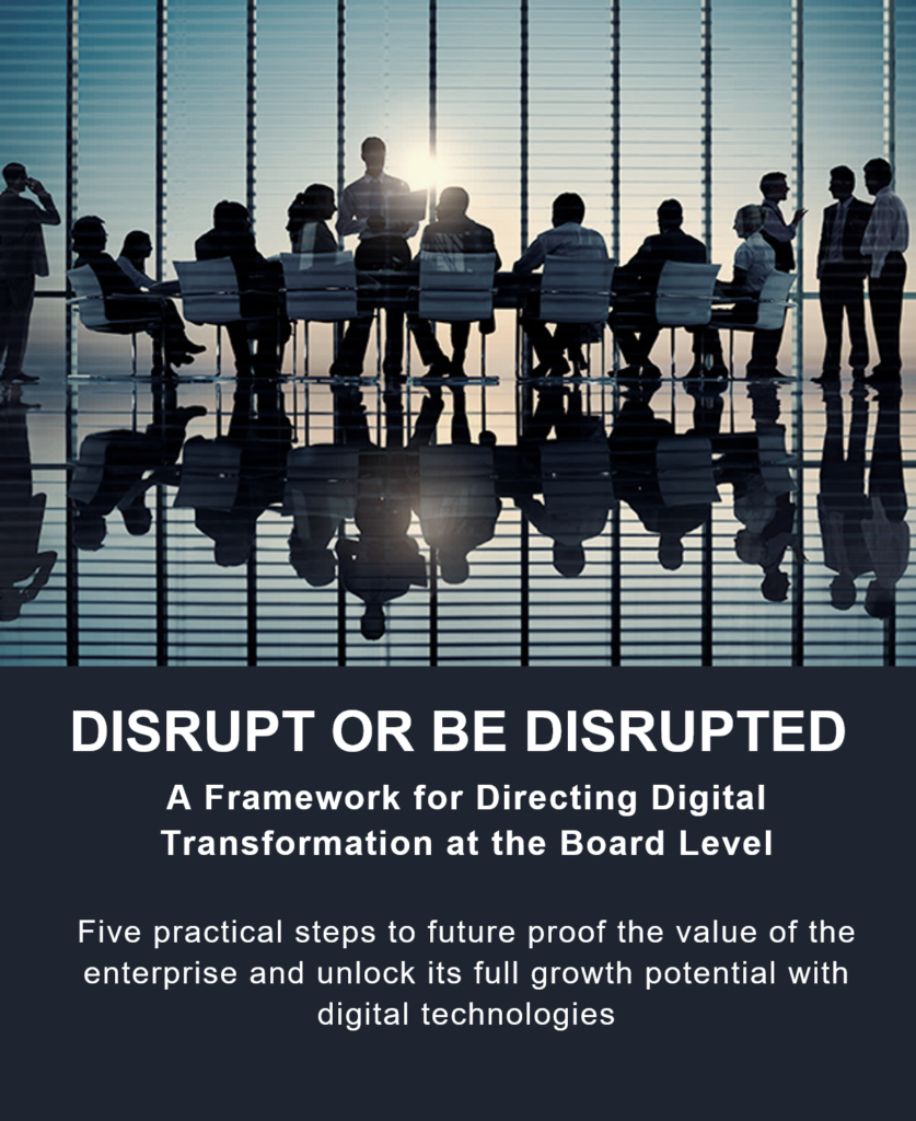 DISRUPT OR BE DISRUPTED COVER FULL